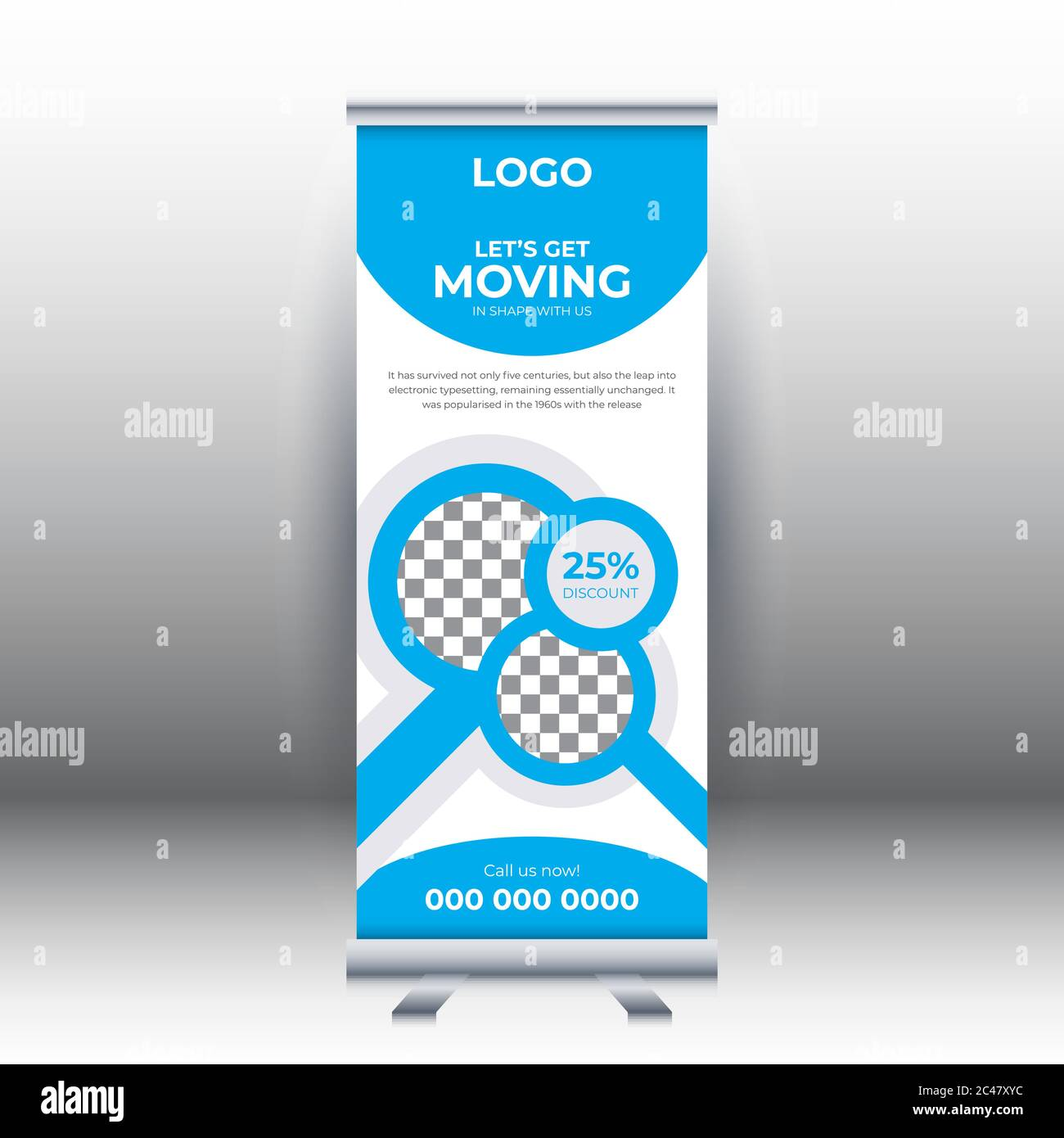 Fitness Roll Up Sale Banner Design Template Abstract Background Pull Up Design Modern X Banner Rectangle Size Template For Sports Gym Stock Vector Image Art Alamy