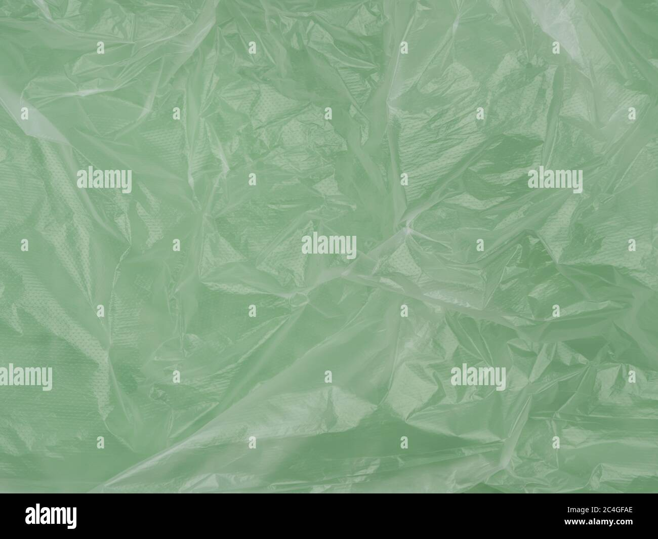 The texture of crumpled cellophane film. Abstract the image. Stock Photo
