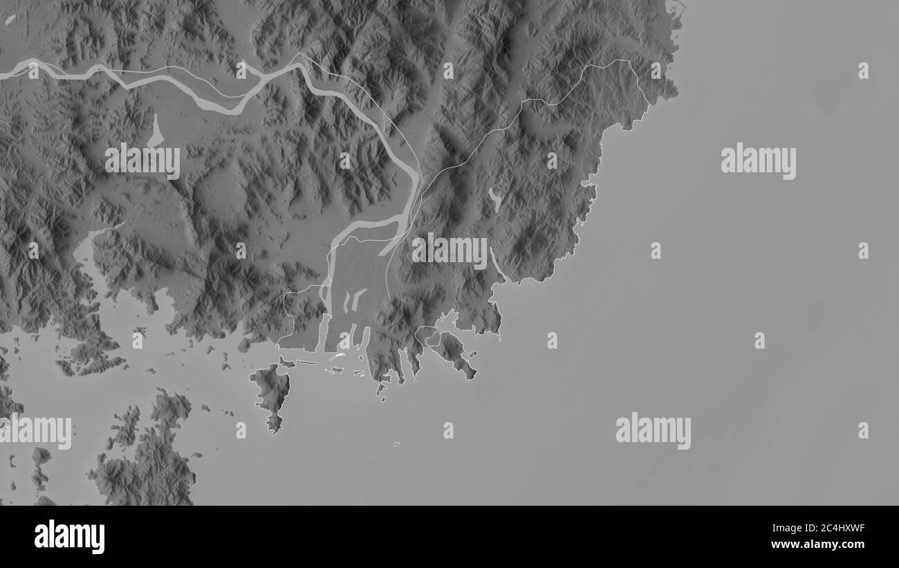 Of korea map busan south BUSAN METROPOLITAN