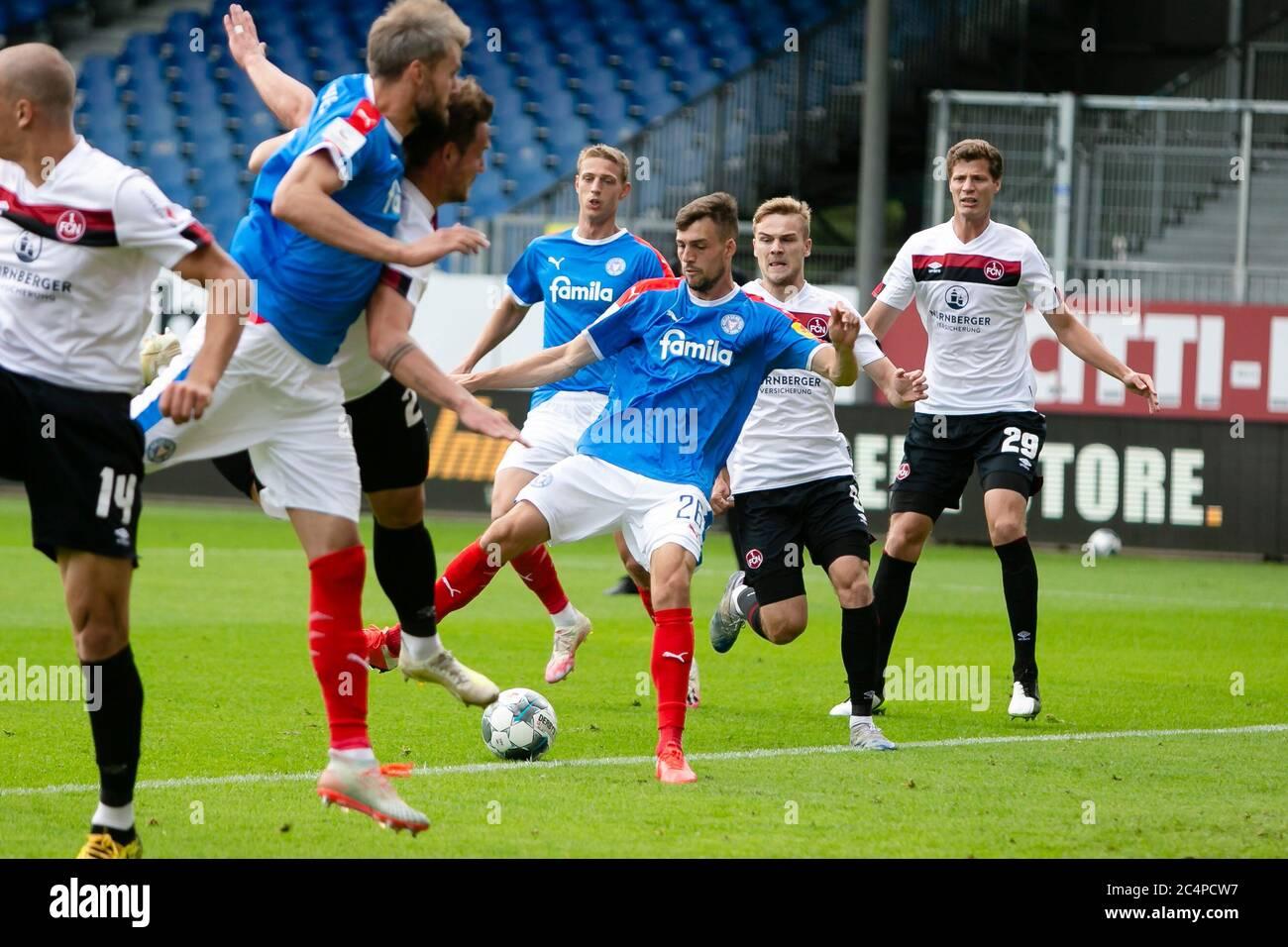 Kiel Germany 28th June 2020 Football 2nd Bundesliga Holstein Kiel 1st Fc Nuremberg 34th Matchday At