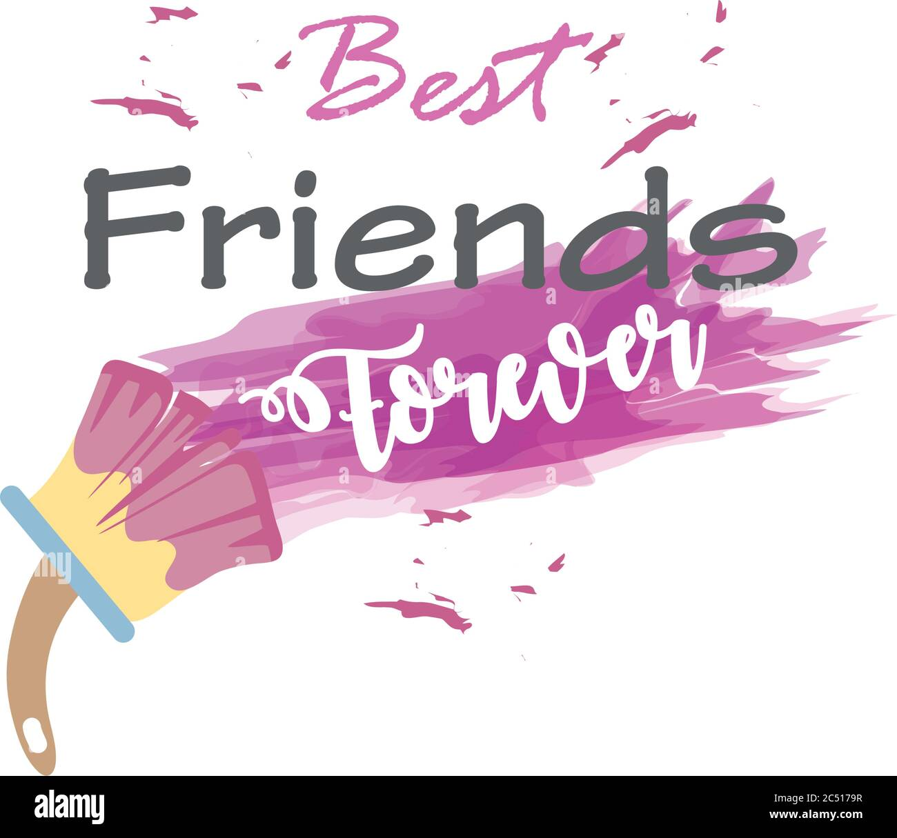 Best Friends Forever Cut Out Stock Images Pictures Alamy