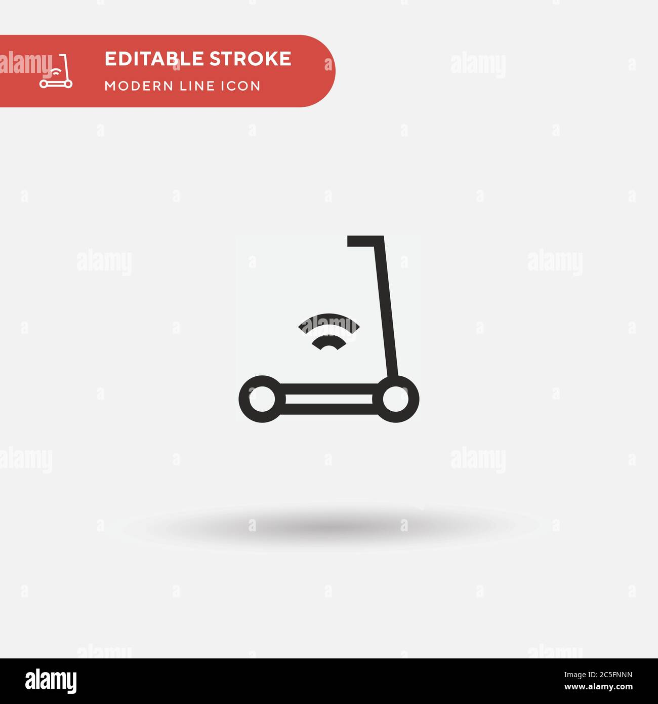 electric scooter simple vector icon illustration symbol design template for web mobile ui element perfect color modern pictogram on editable stroke electric scooter icons for your business project stock vector image https www alamy com electric scooter simple vector icon illustration symbol design template for web mobile ui element perfect color modern pictogram on editable stroke electric scooter icons for your business project image364837361 html