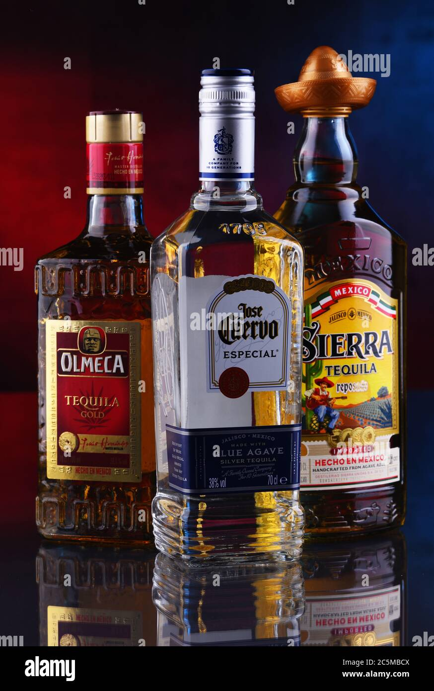 Page 2 Tequila Bottles High Resolution Stock Photography And Images Alamy