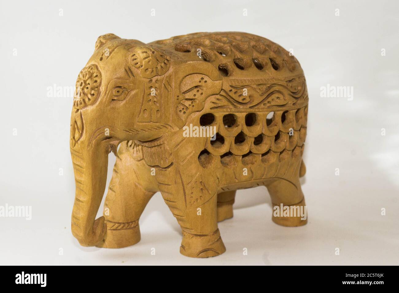Wooden Carving Indian Elephant High Resolution Stock Photography And Images Alamy
