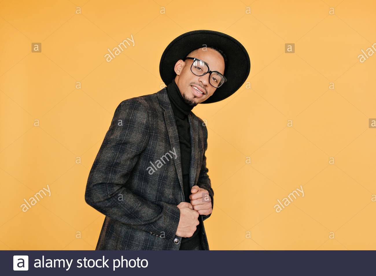 Male Model Posing Indoor High Resolution Stock Photography And Images Alamy