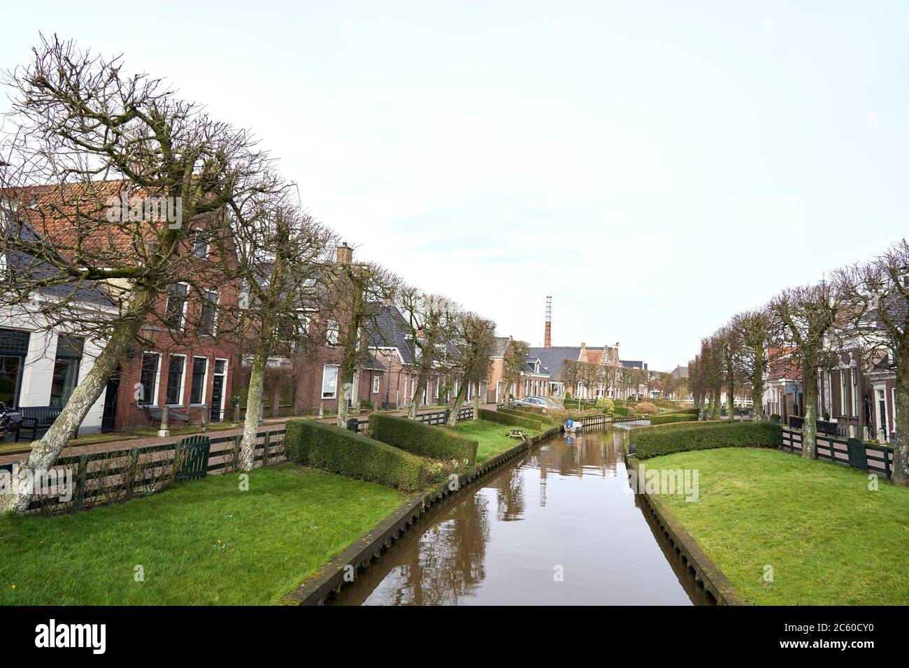 Ijlst, Friesland, Netherlands. Stock Photo