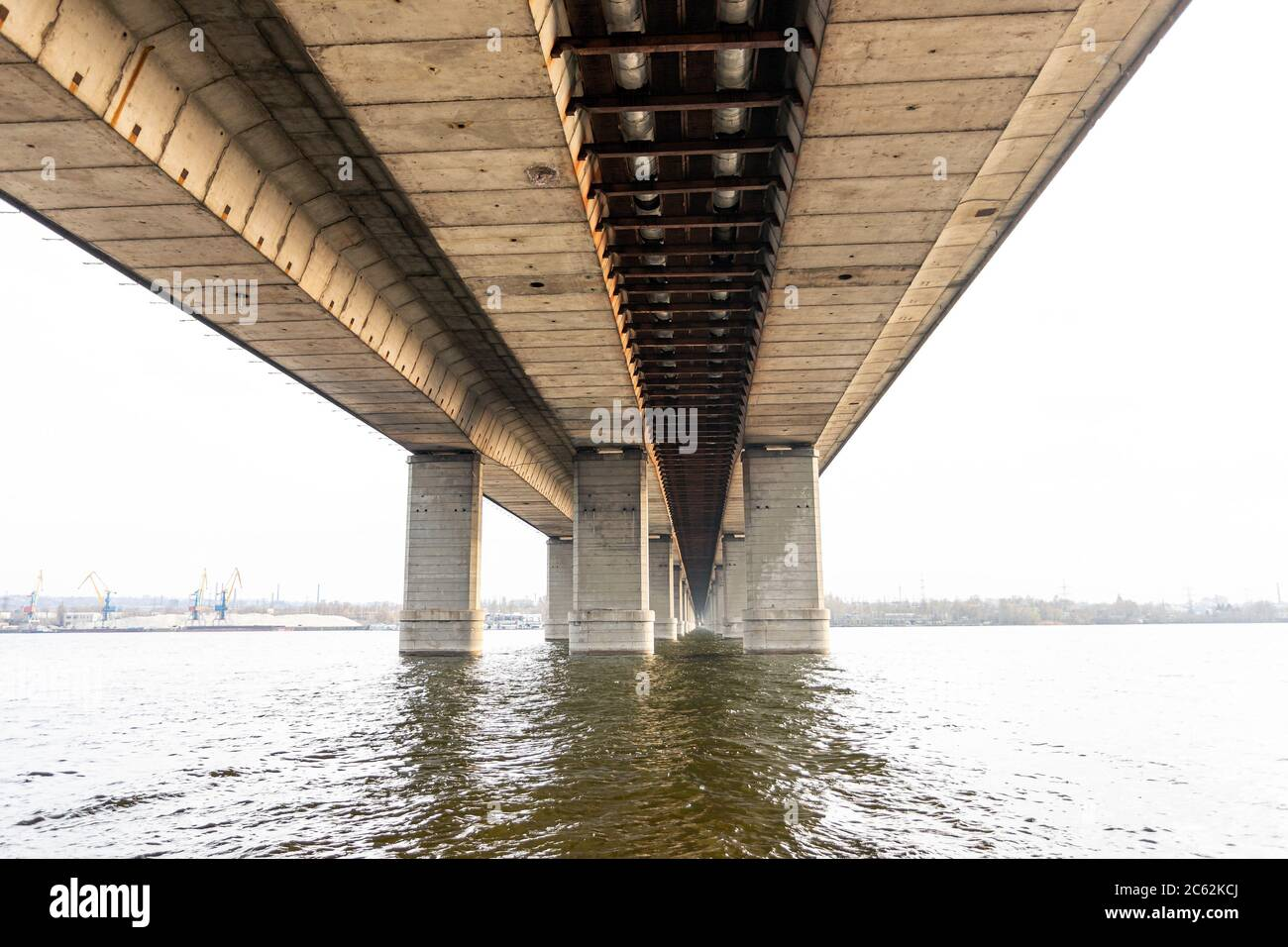 Concrete Piers High Resolution Stock Photography And Images Alamy