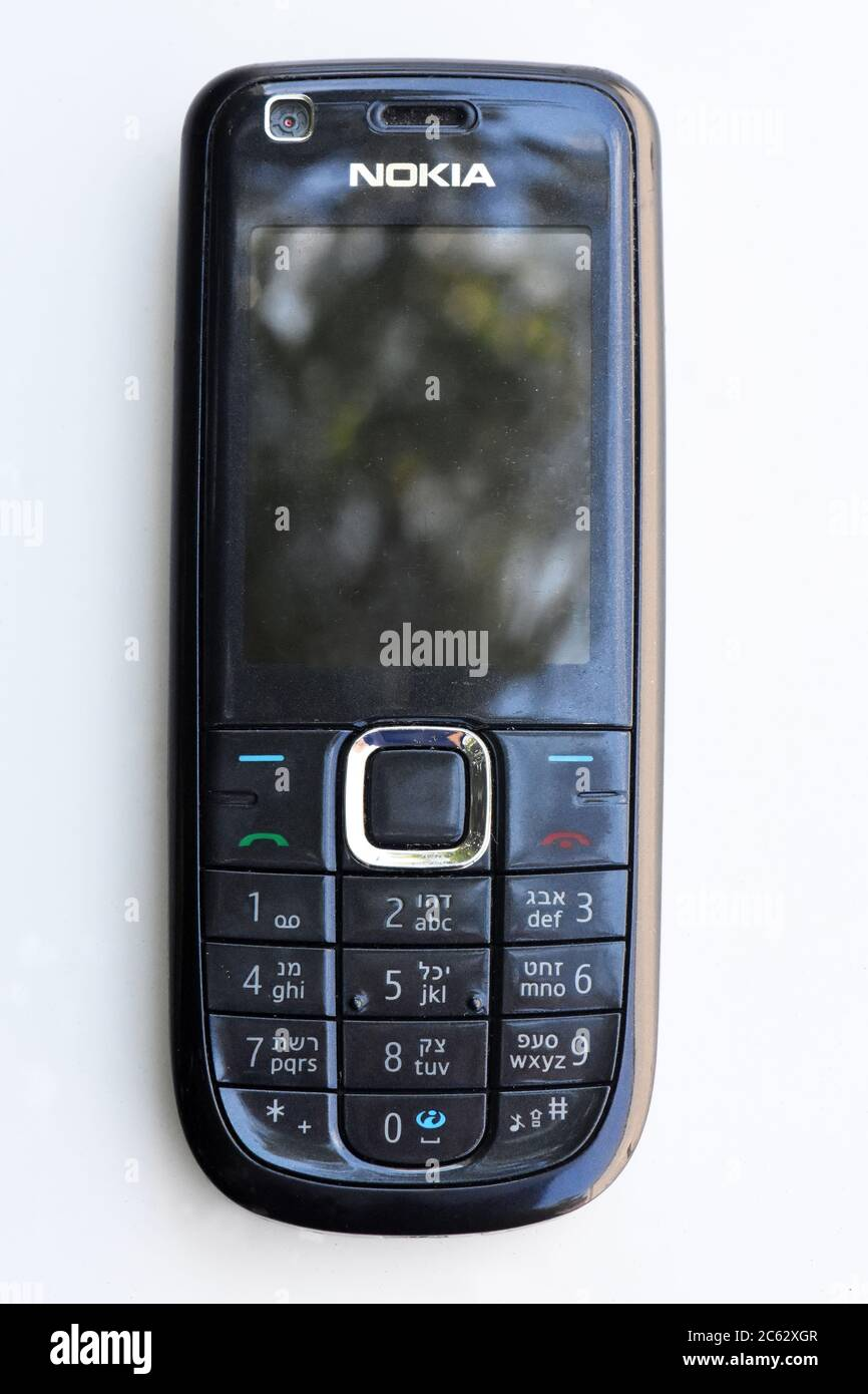 Old Nokia Mobile Phone Stock Photo Alamy