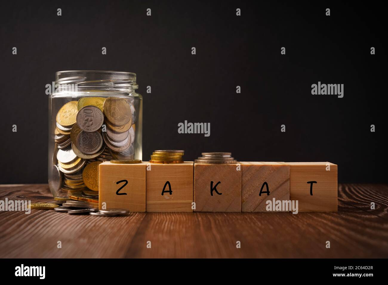 zakat islamic concept zakat wordings wih coins in jar on wooden background stock photo alamy https www alamy com zakat islamic concept zakat wordings wih coins in jar on wooden background image365203743 html