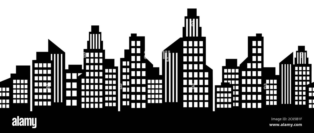 Buildings clipart black and white, Buildings black and white Transparent  FREE for download on WebStockReview 2020
