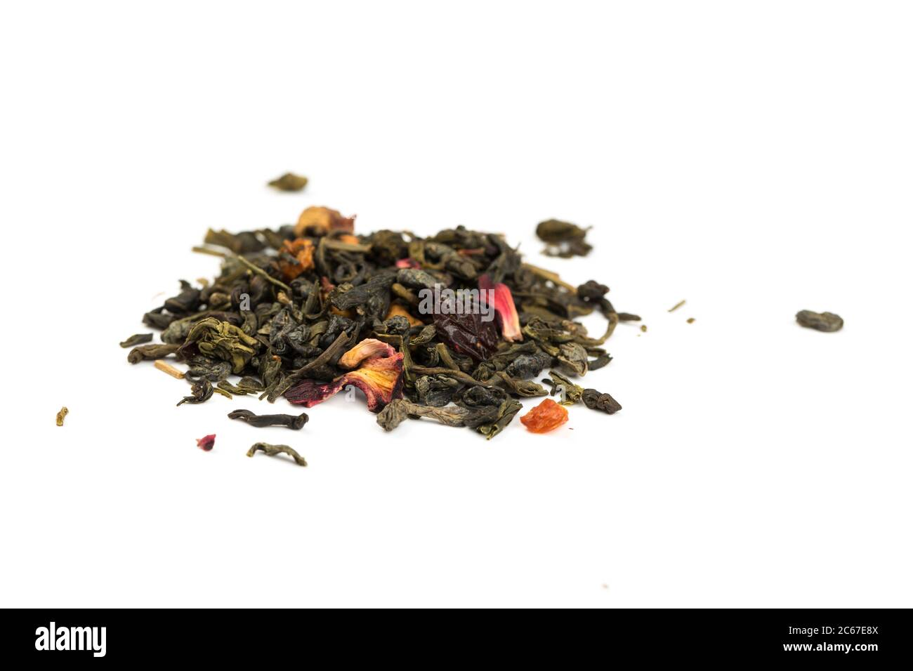 Fragrant Leaves Of Chinese Dry Tea Top Grade With Goji Berries And