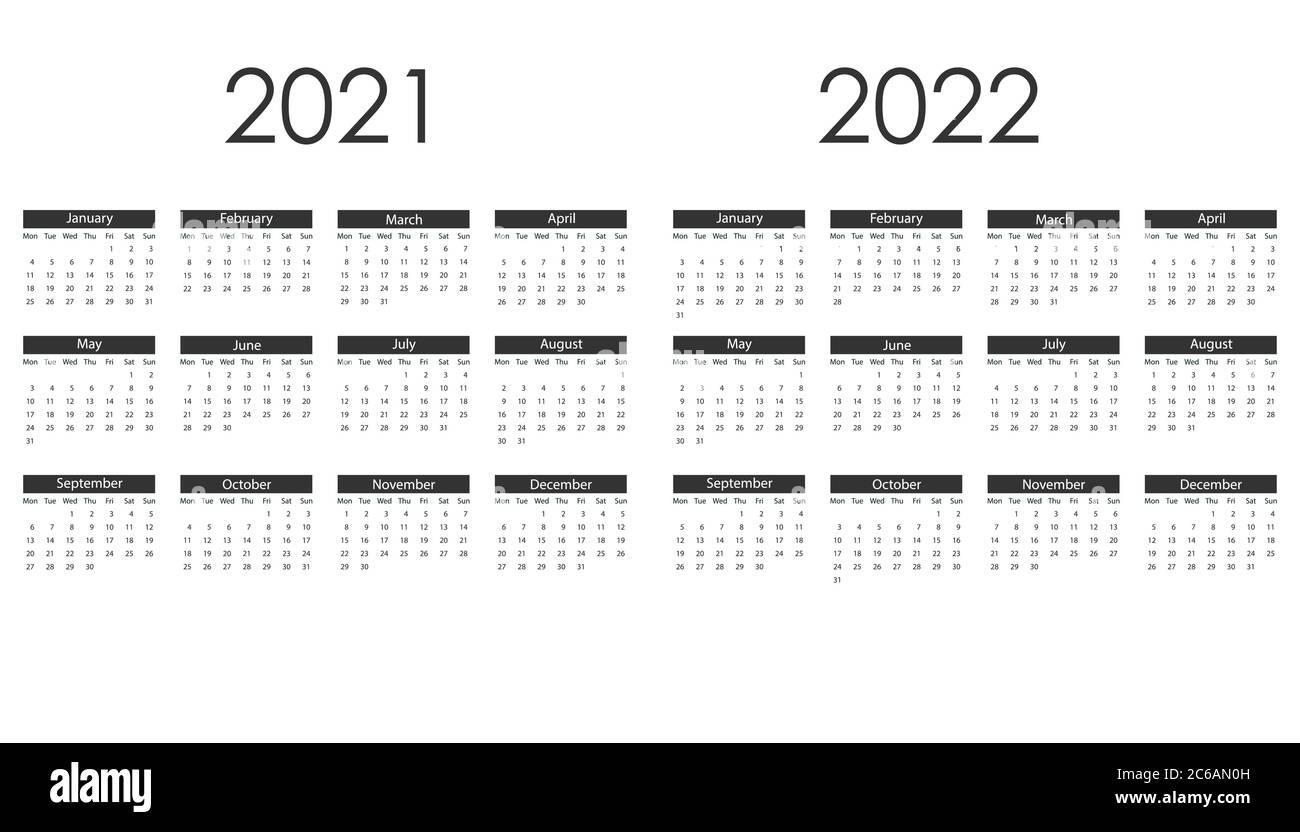 Cu Boulder Calendar 2022.2022 Calendar High Resolution Stock Photography And Images Alamy