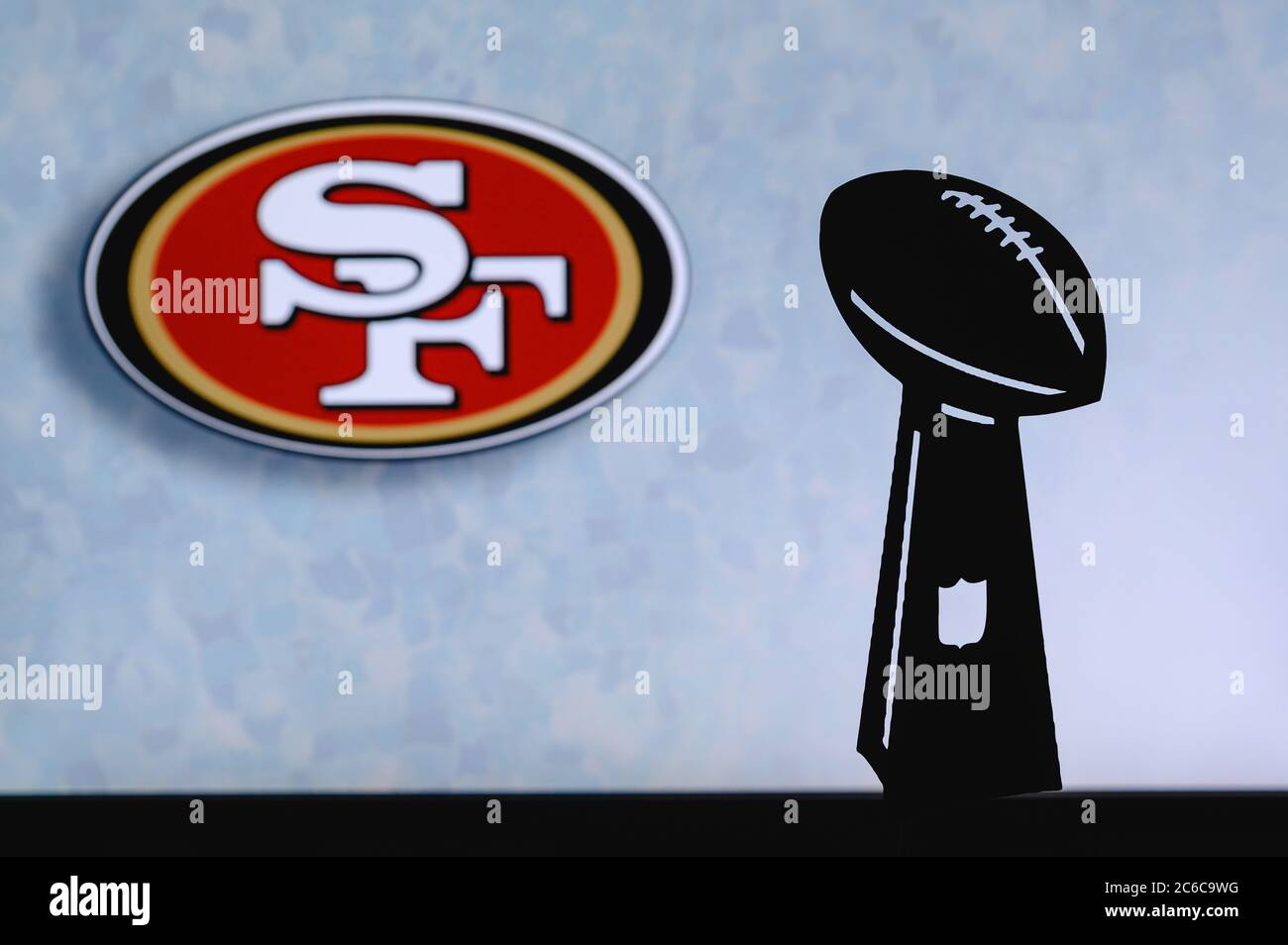 49ers Logo High Resolution Stock Photography And Images Alamy