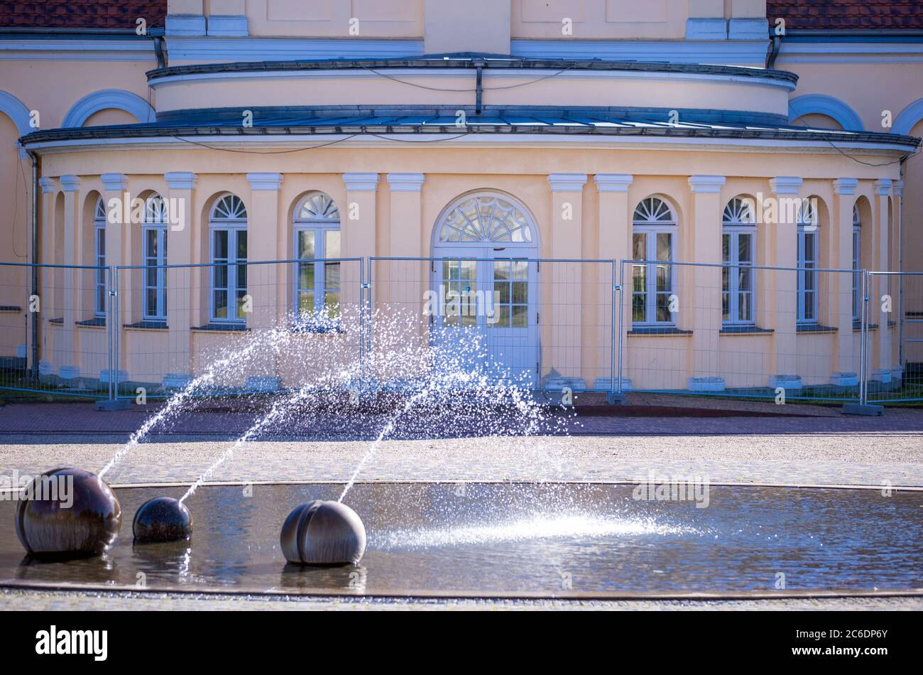 Neustrelitz, Germany. 23rd June, 2020. The former orangery in the royal residence. Credit: Jens Büttner/dpa-Zentralbild/ZB/dpa/Alamy Live News Stock Photo