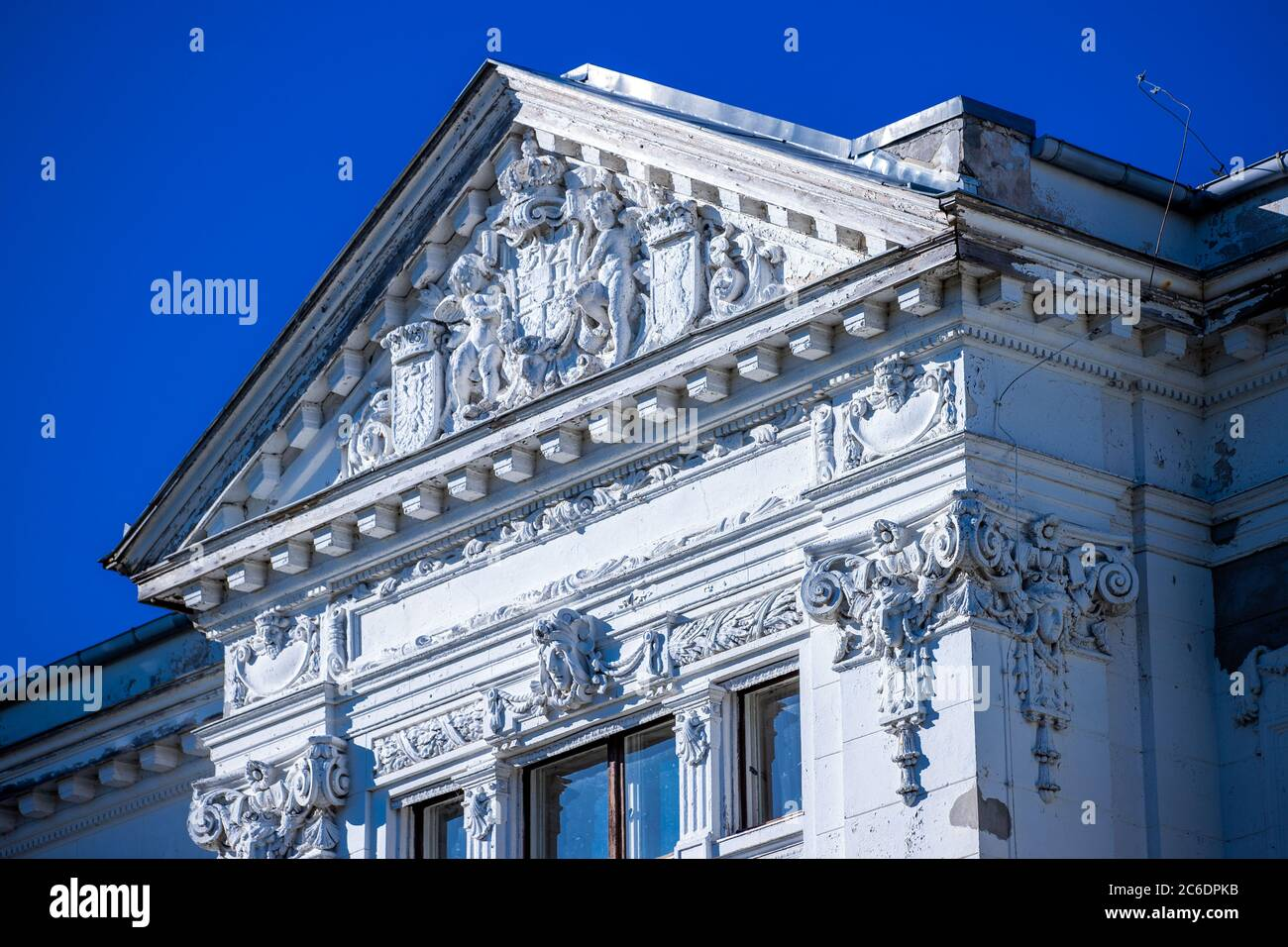 Neustrelitz, Germany. 23rd June, 2020. The former building of the Mecklenburg-Strelitzsche Hypothekenbank in the residence city. Credit: Jens Büttner/dpa-Zentralbild/ZB/dpa/Alamy Live News Stock Photo