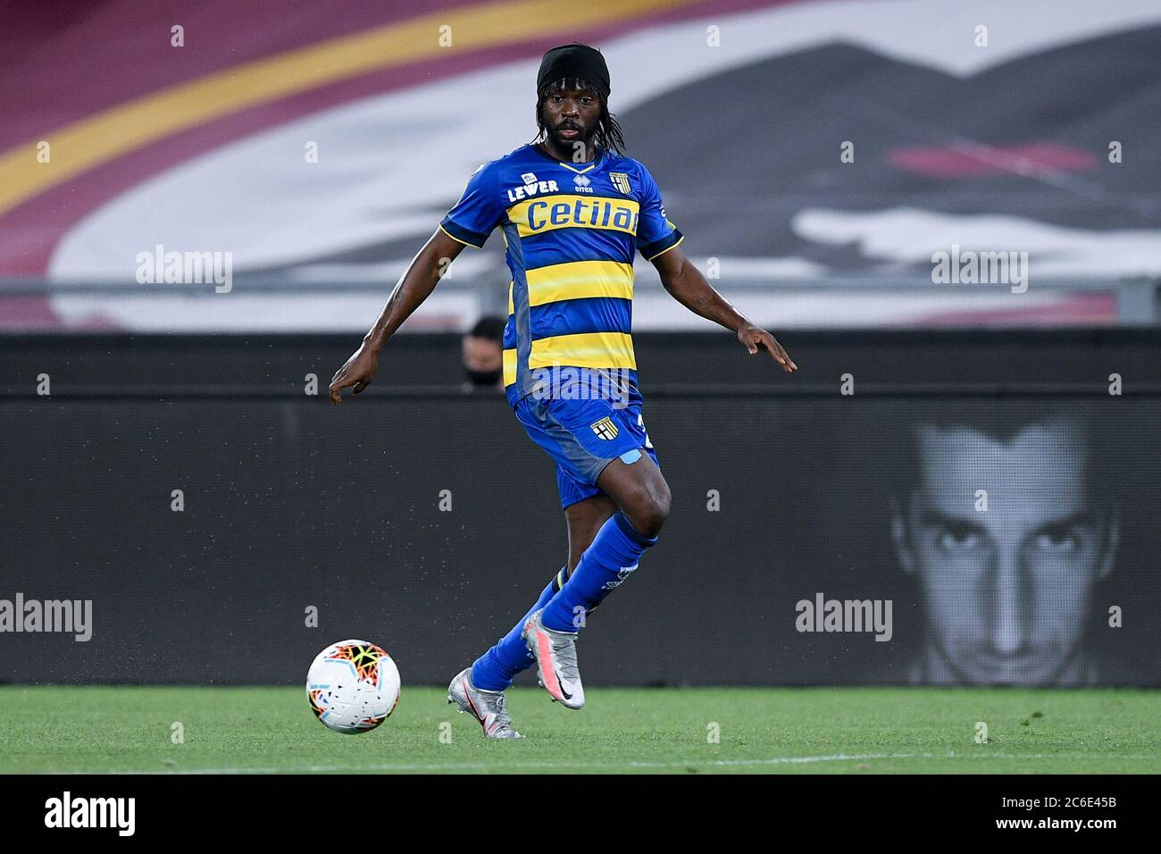 Rome Italy 08th July 2020 Gervinho Of Parma Calcio During The Serie A Match Between Roma