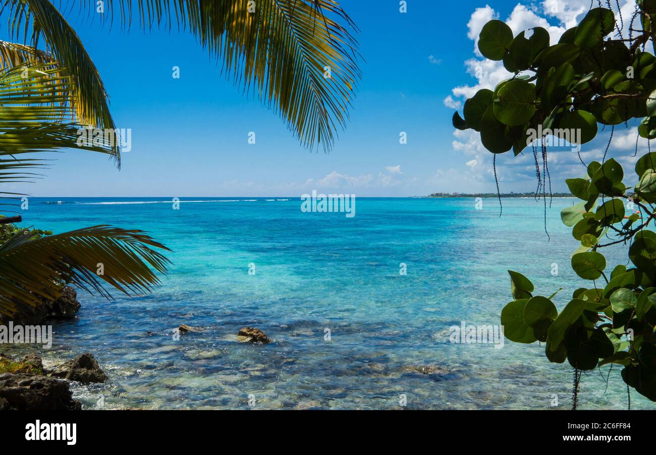 Caribbean Wallpaper High Resolution Stock Photography And Images Alamy