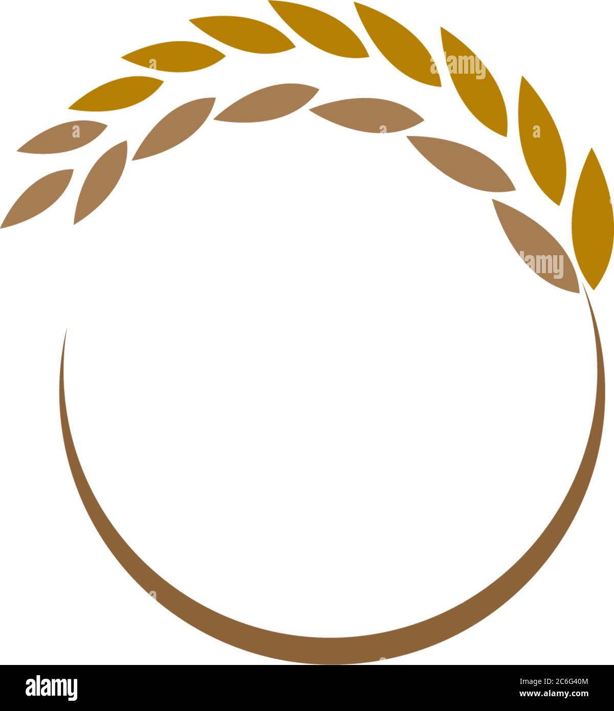 rice plant logo icon concept illustration stock vector image art alamy https www alamy com rice plant logo icon concept illustration image365460052 html