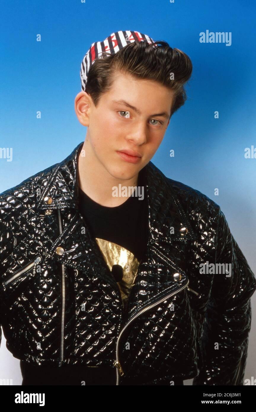 Die Spielbude, Unterhaltungsshow, Deutschland 1982 - 1989, Gaststar: Kid Paul Stock Photo