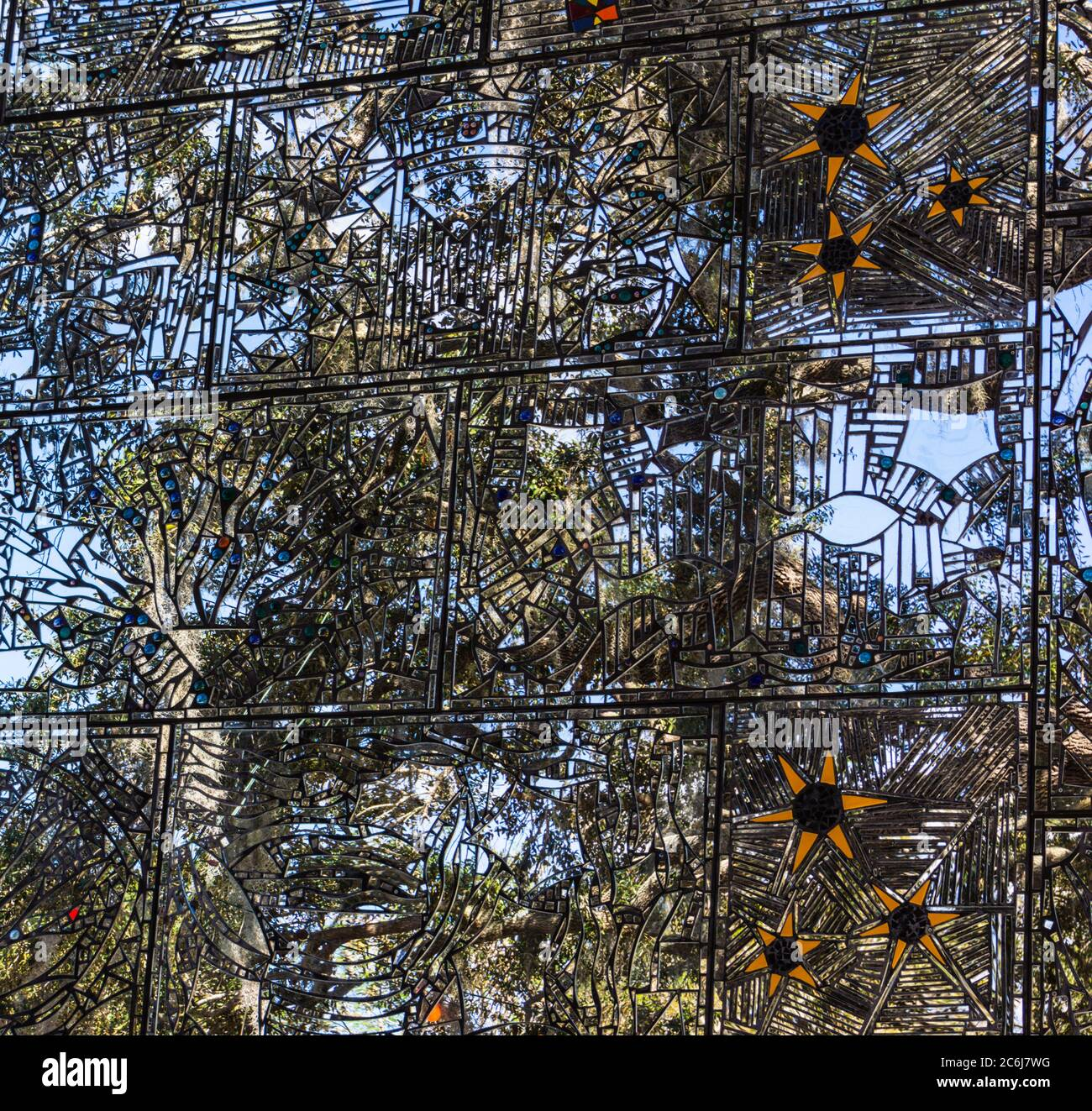 Mirror Mosaic High Resolution Stock Photography And Images Alamy