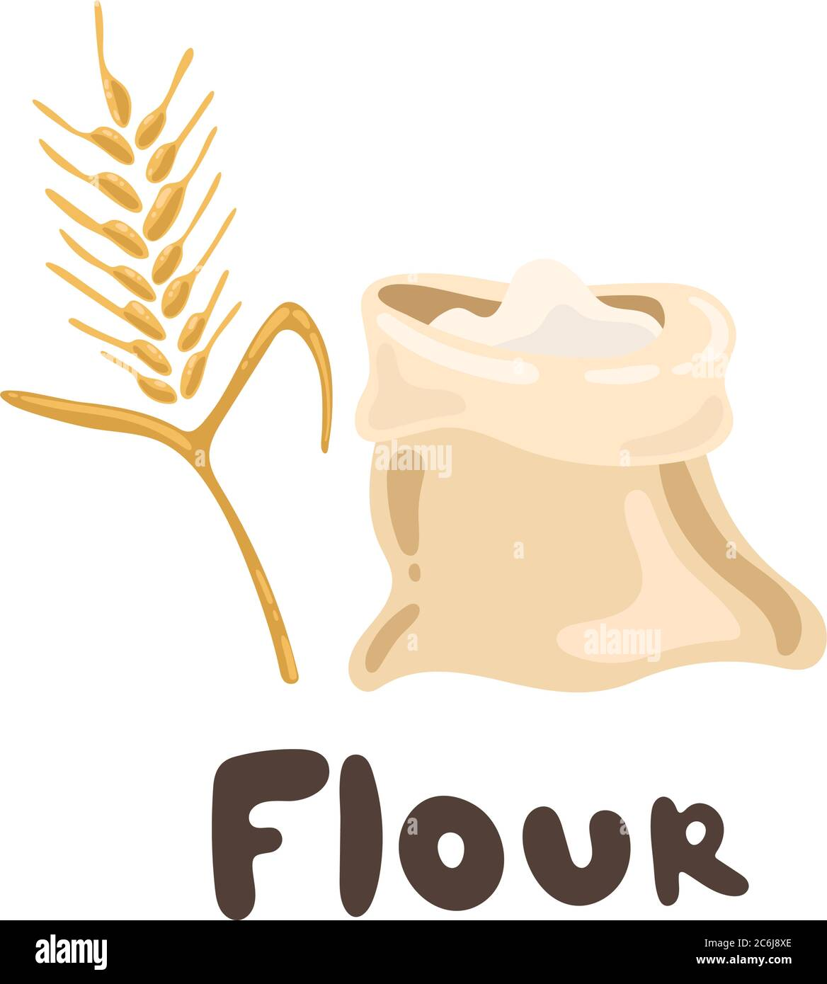 a bag of flour and ears of wheat design element vector clipart stock illustration bread house heap of flour bread and harvest theme food and stock vector image art alamy https www alamy com a bag of flour and ears of wheat design element vector clipart stock illustration bread house heap of flour bread and harvest theme food and image365507814 html