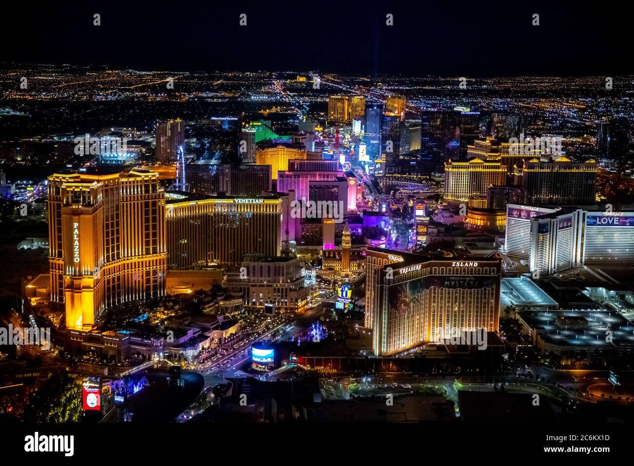 Las Vegas Nv Usa 9th July 2020 Aerial Views Of The Las Vegas Strip In Las Vegas Nv On July 9 2020 Credit Erik Kabik Photography Media Punch Alamy Live News Stock Photo Alamy