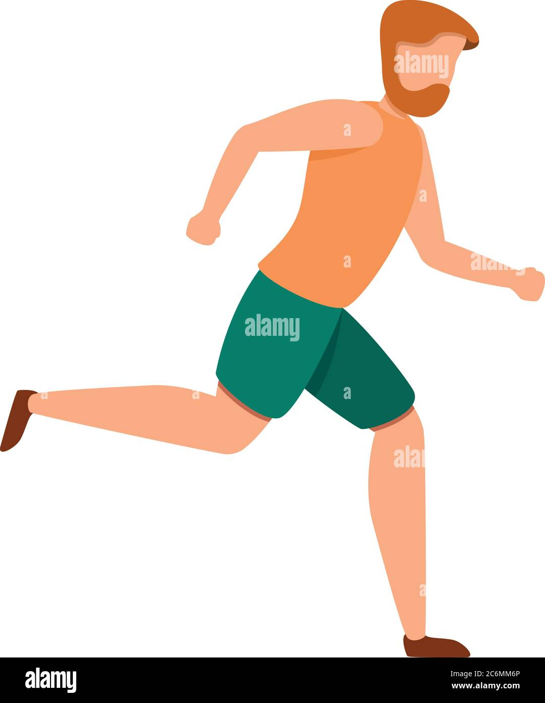 Exercise Morning Running Icon Cartoon Of Exercise Morning Running Vector Icon For Web Design Isolated On White Background Stock Vector Image Art Alamy