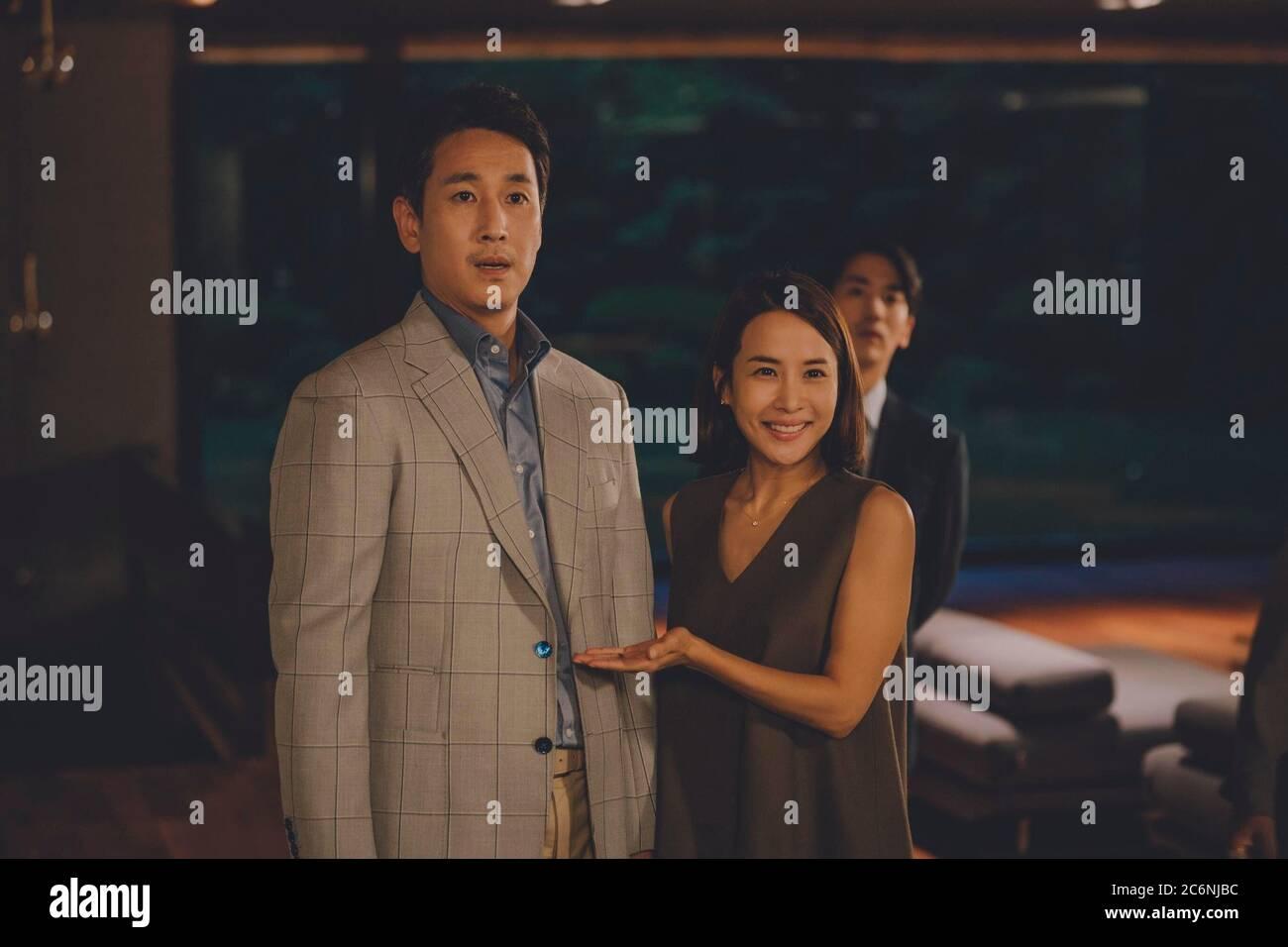 Sun Kyun Lee And Yeo Jeong Jo In Parasite 2019 Original Title Gisaengchung Directed By Joon Ho Bong Credit Cj Entertainment Album Stock Photo Alamy