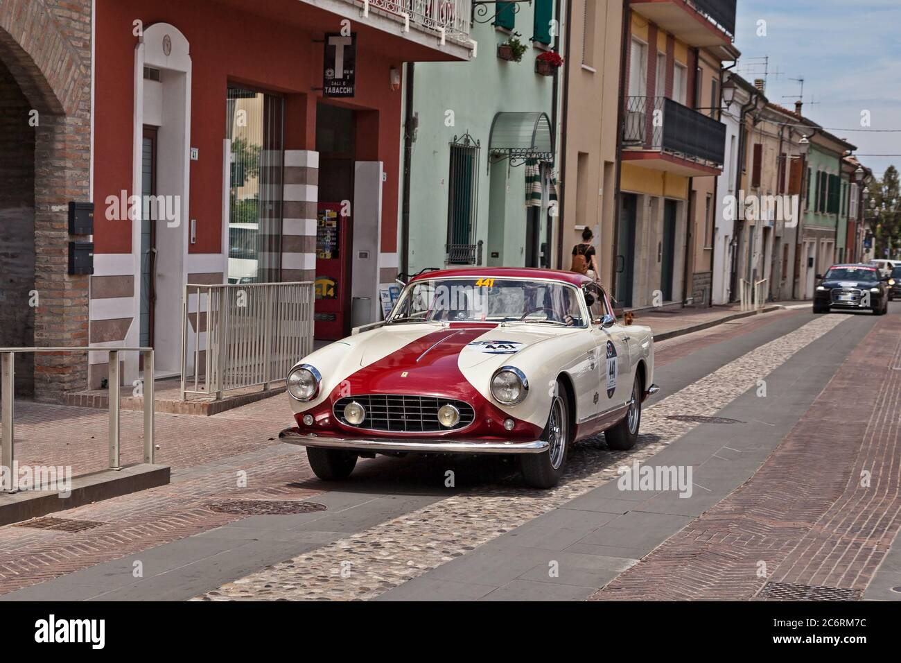 Vintage Ferrari Car High Resolution Stock Photography And Images Alamy