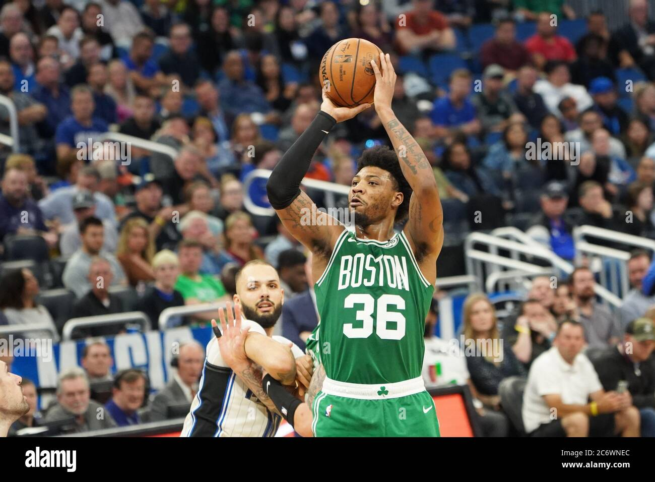 OO MARCUS SMART BOSTON CELTICS 8X10 SPORTS ACTION PHOTO