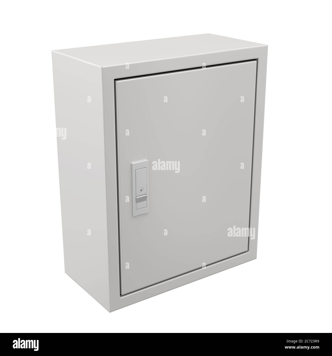Fuse Box Isolated Stock Photo