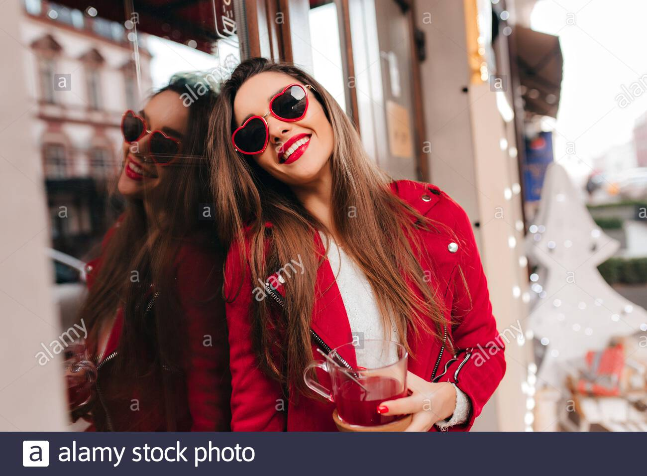 Cafe Photoshoot High Resolution Stock Photography And Images Alamy
