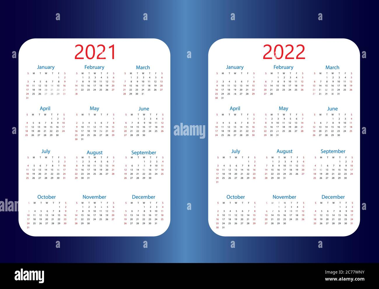 February Calendar High Resolution Stock Photography and Images