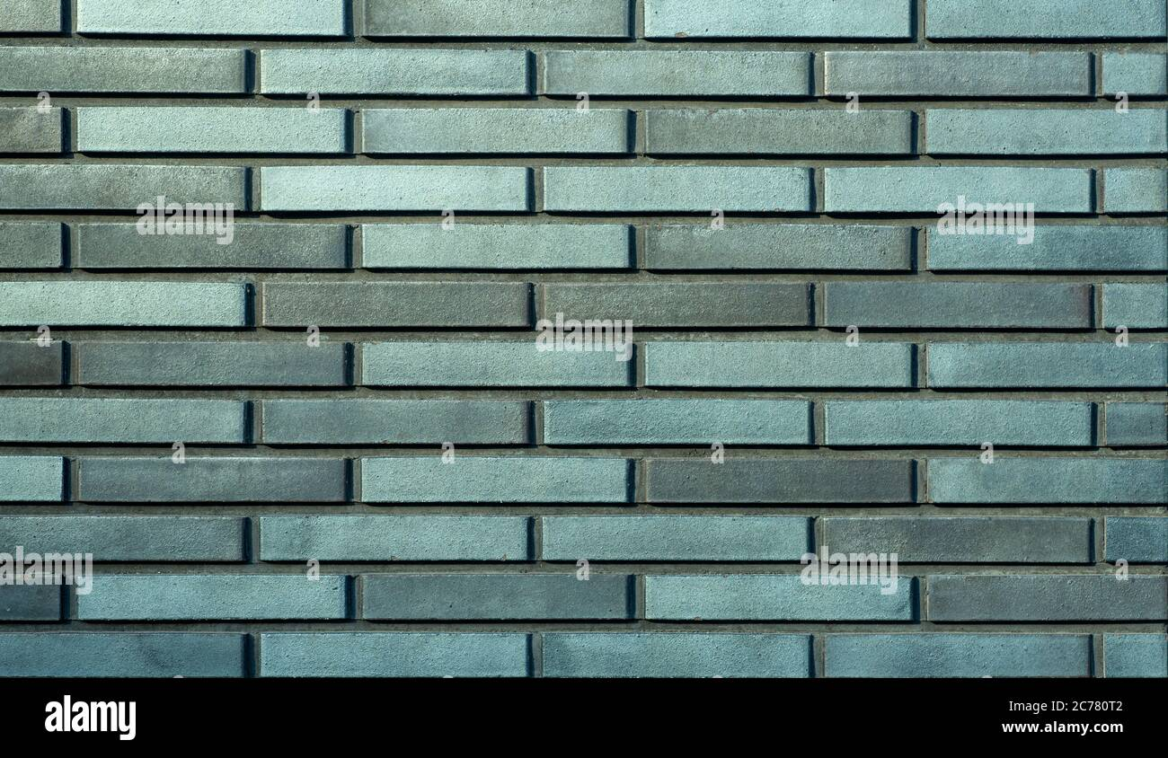 Green ceramic tile background. Old vintage ceramic tiles in blue to decorate the kitchen or bathroom Stock Photo