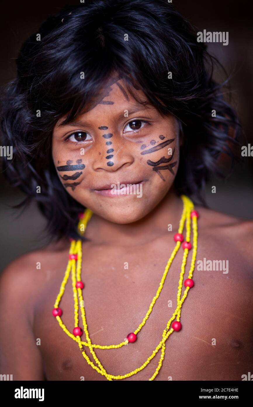 Tribal Face Paint High Resolution Stock Photography And Images Alamy