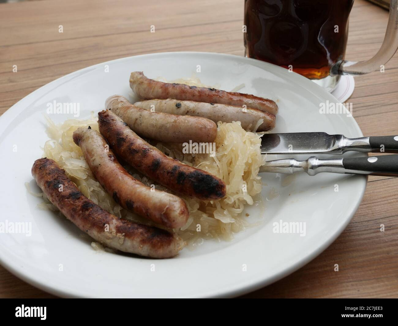 Bavaria Sausage High Resolution Stock Photography And Images Alamy