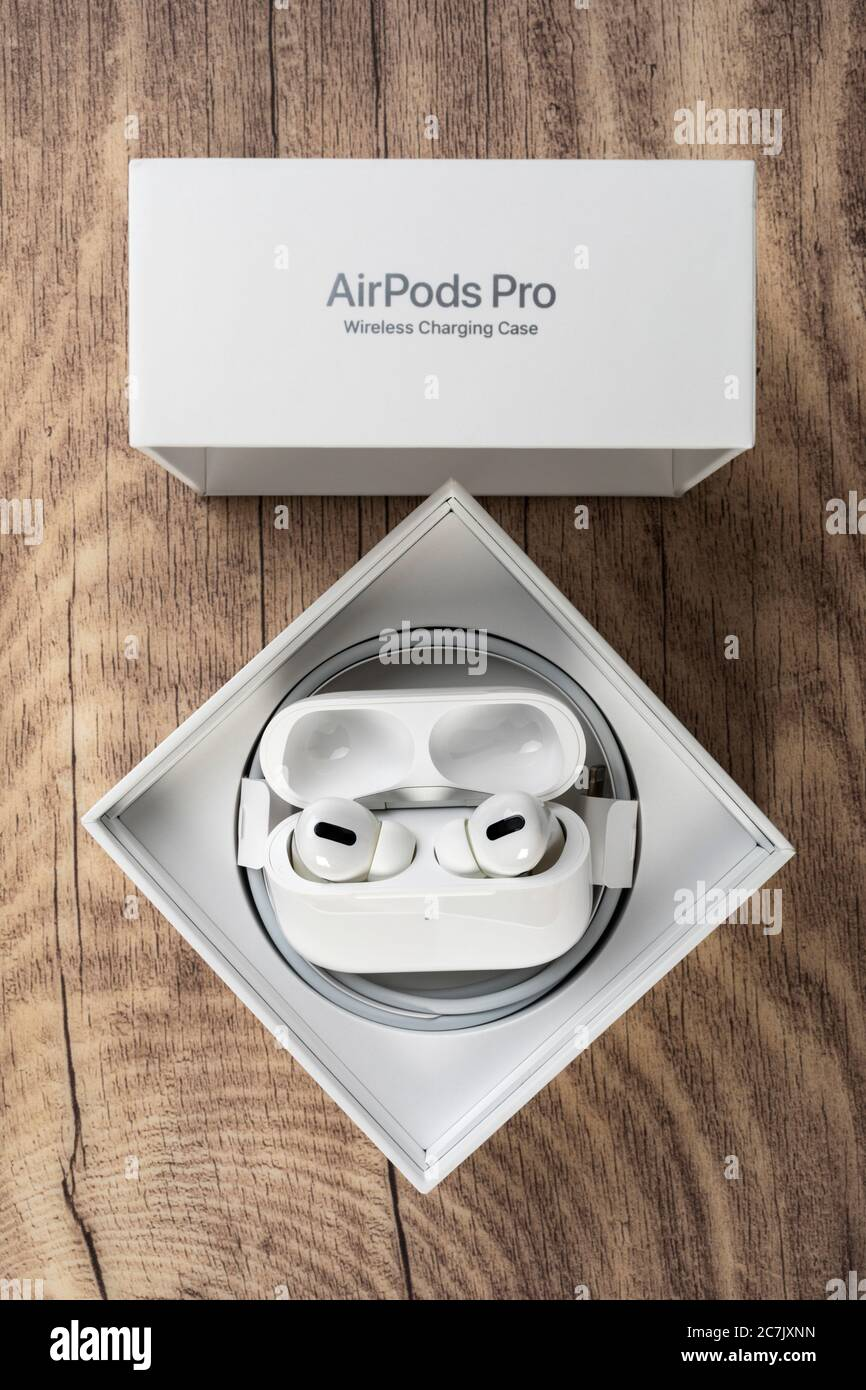 Apple Airpods Pro Original Packaging Opened Accessories Stock