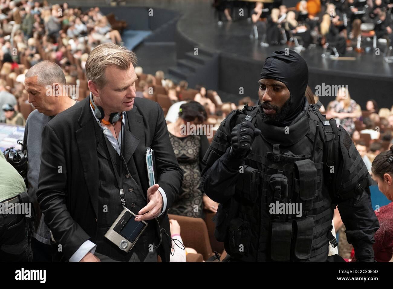 Christopher Nolan And Elizabeth Debicki In Tenet 2020 Directed By Christopher Nolan Credit Warner Bros Pictures Gordon Melinda Sue Album Stock Photo Alamy