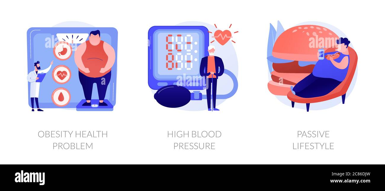 High Blood Pressure Obesity High Resolution Stock Photography and Images -  Alamy