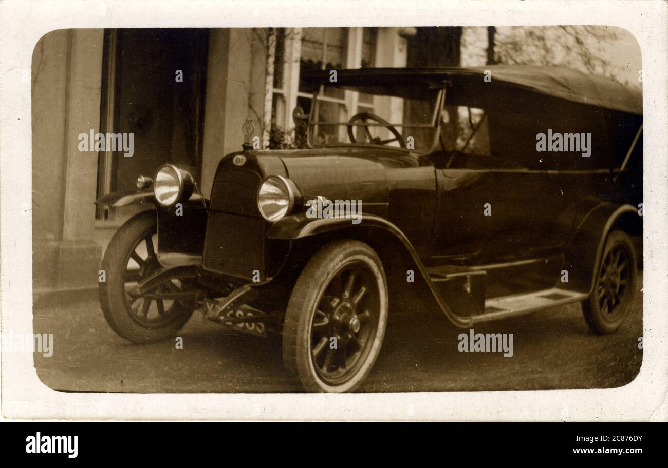 Fiat Vintage Car, Britain. 1920s Stock Photo
