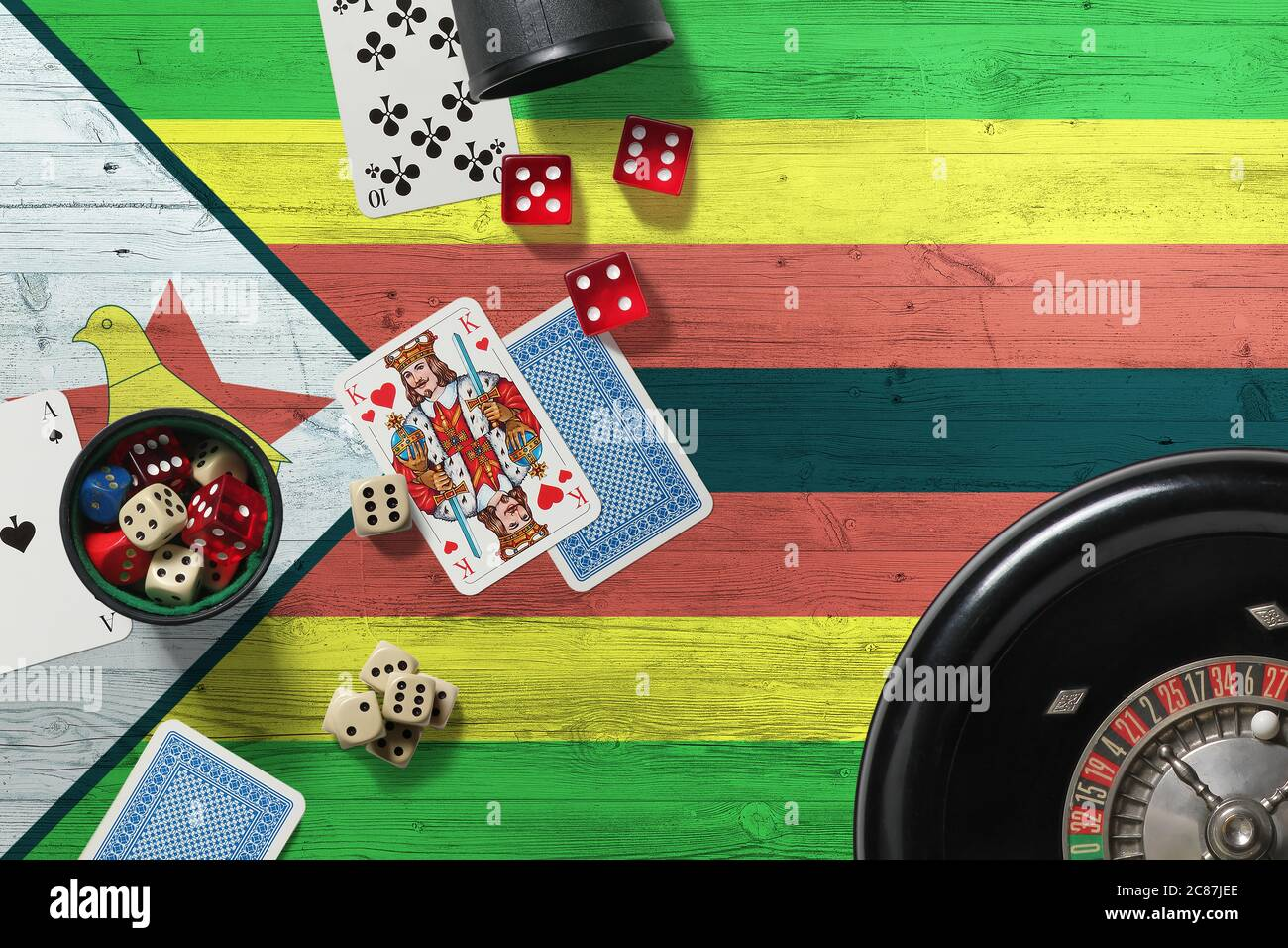 Betting world zimbabwe flag betting for the tie in jeopardy