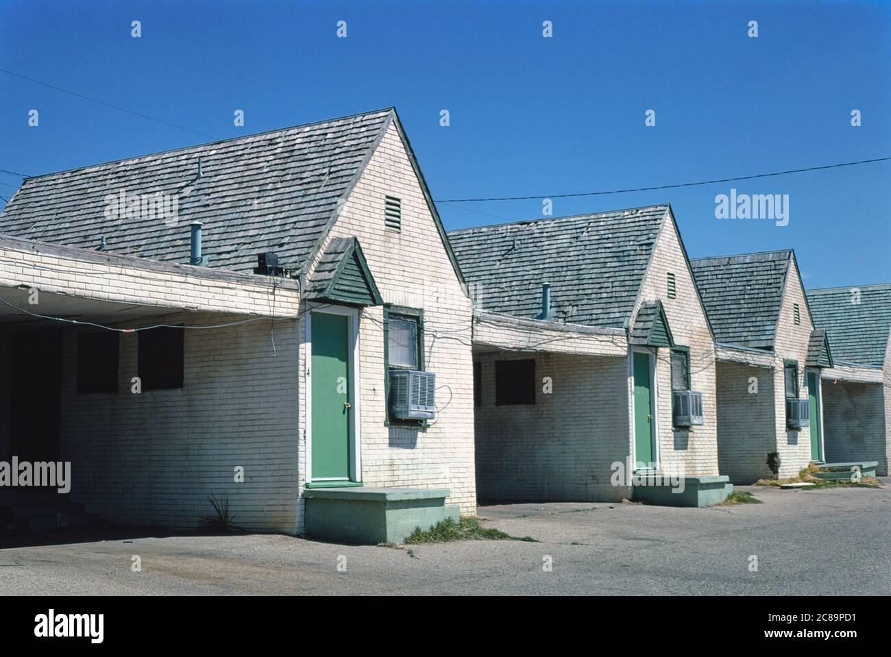 Green Gables Motel, Amarillo, Texas, USA, John Margolies Roadside America Photograph Archive, 1977 Stock Photo