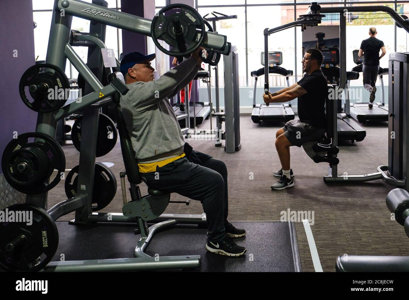 Anytime Fitness Worthing Uk 25th July 2020 People Return As Gyms Reopen With Pre Booked Slots When tybalt kills mercutio, romeo shifts into this violent mode. alamy