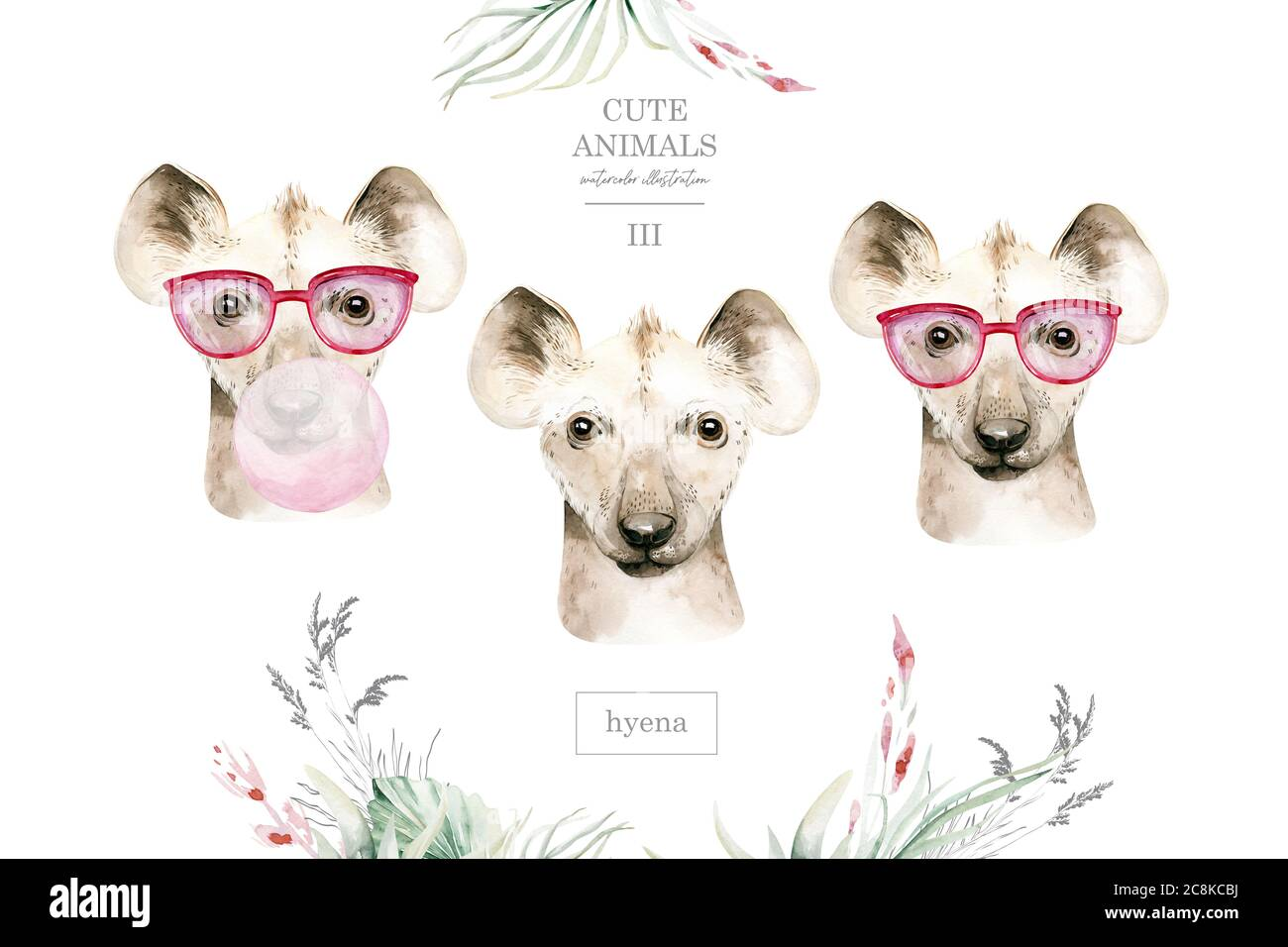 Cartoon Funny Hyena High Resolution Stock Photography And Images Alamy