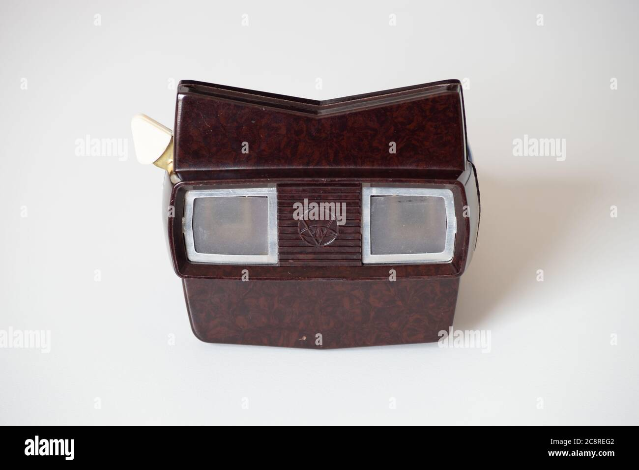 Viewmaster (or View-Master) model E bakelite 3D slide film reel viewer from the 1950s/60s Stock Photo