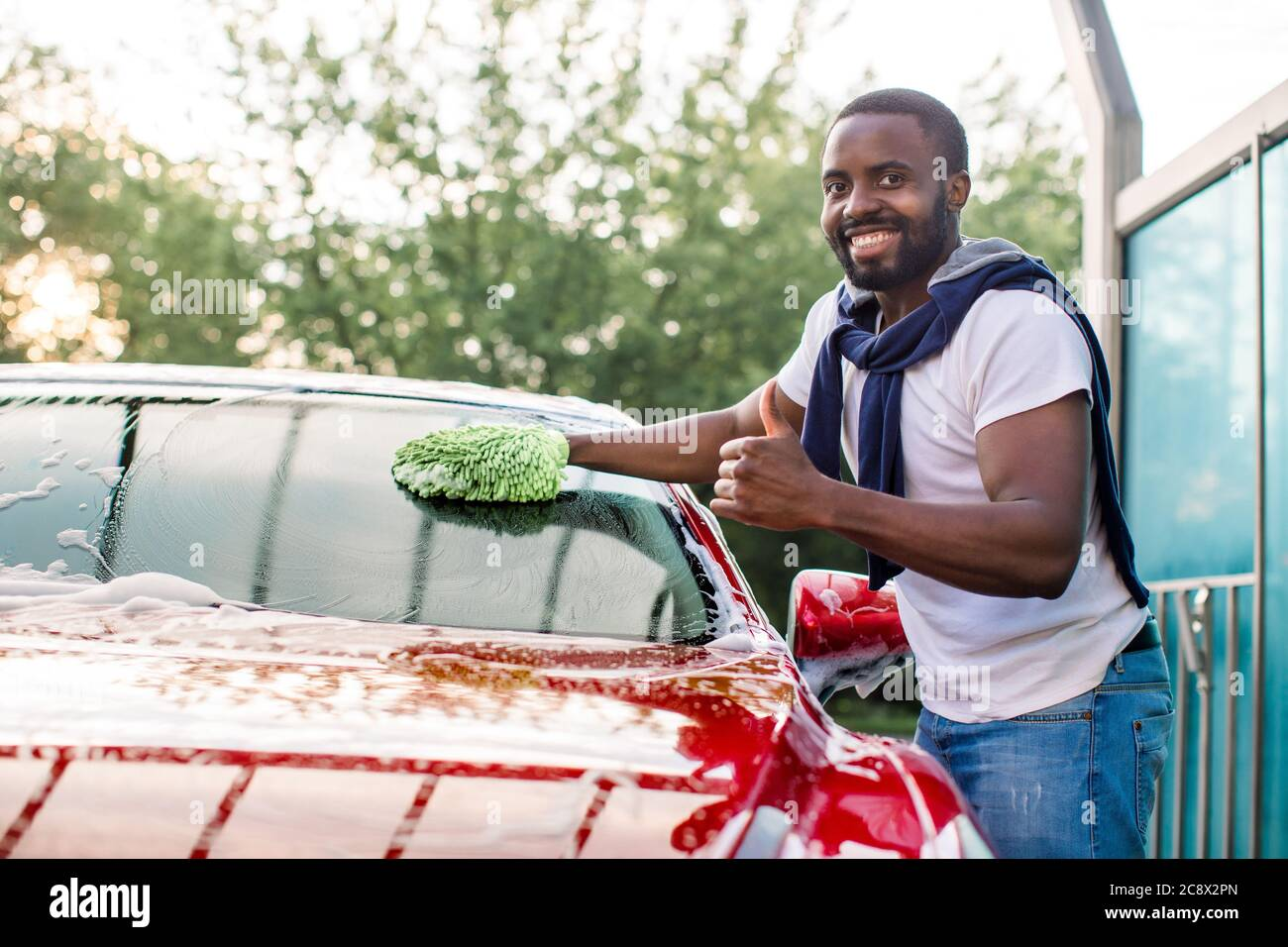 Car Windscreen Cleaner High Resolution Stock Photography And Images Alamy