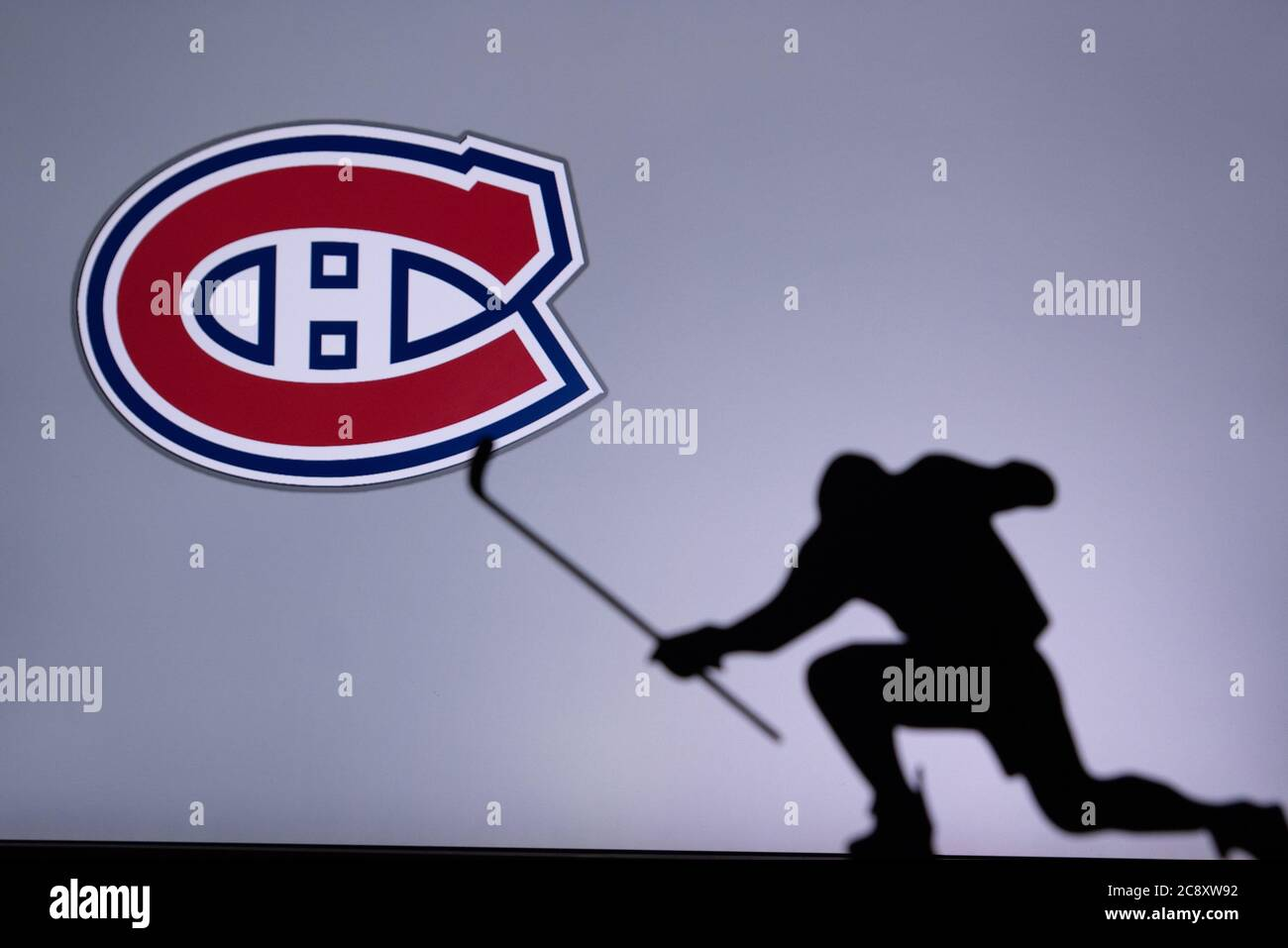 Montreal Canadiens Logo High Resolution Stock Photography And Images Alamy