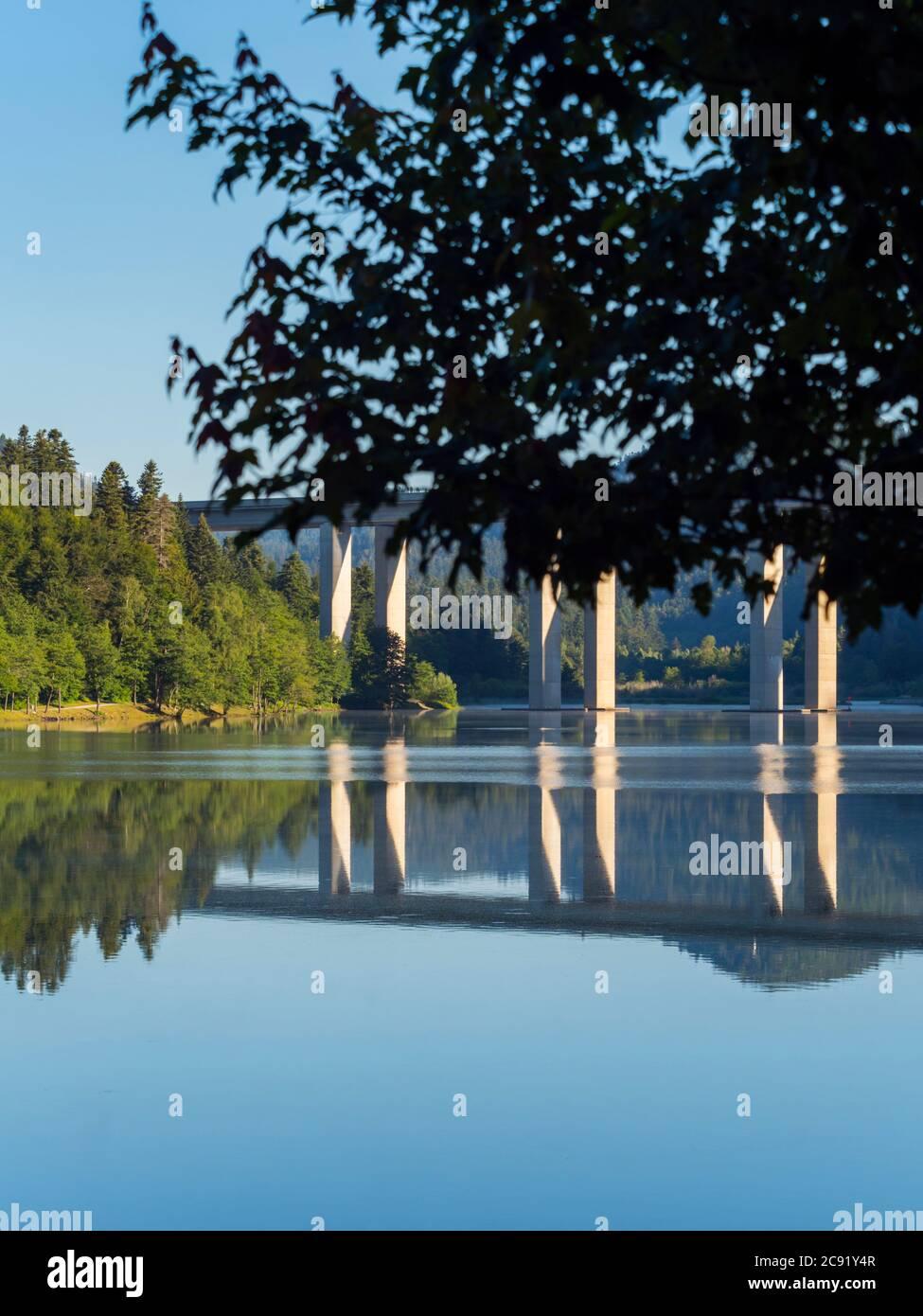 Lake Bajer in Fuzine Croatia Europe Stock Photo