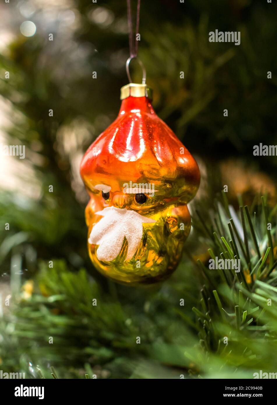Gnome Christmas Tree Decoration Of The Times Of The Ussr Stock Photo Alamy