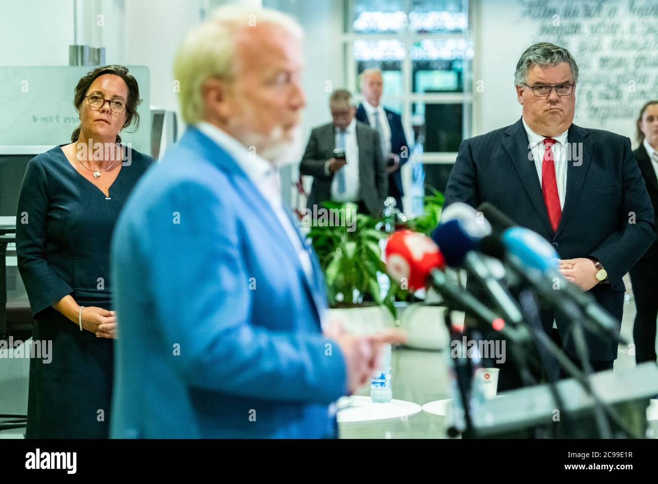 Utrecht Netherlands 29th July 2020 Utrecht 29 07 2020 Press Conference After Safety Board About The